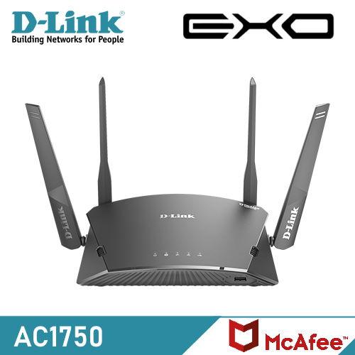 【D-Link 友訊】DIR-1760 AC1750 Wi-Fi Mesh 無線路由器