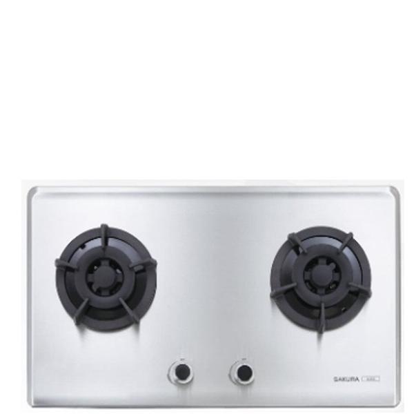 (全省安裝)櫻花雙口檯面爐(與G-2522S同款)瓦斯爐桶裝瓦斯G-2522SL