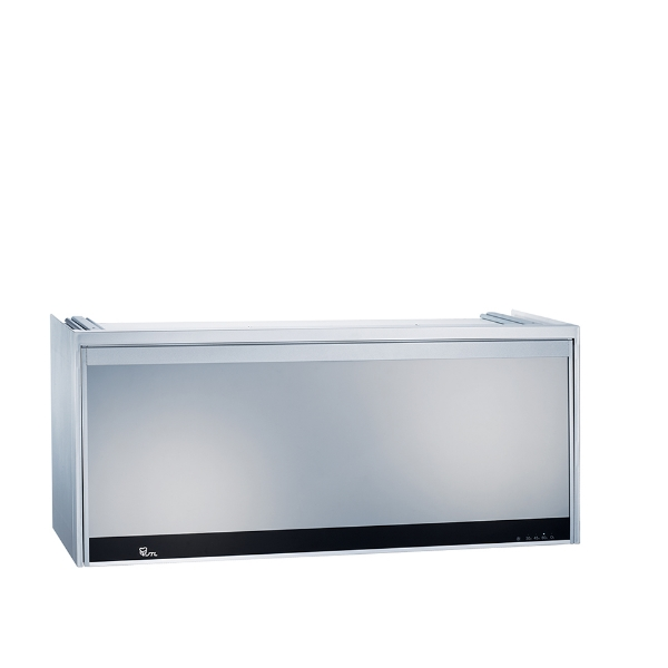 (全省安裝)喜特麗80公分LED全鏡面臭氧型懸掛式烘碗機銀色JT-3808Q
