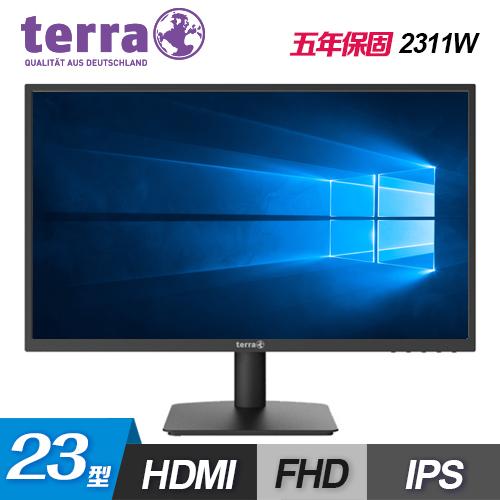 【terra 沃特曼】2311W 23型 IPS 螢幕(五年保)