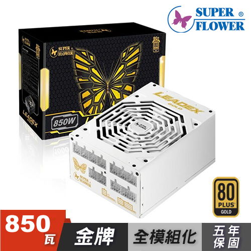 振華 金牌 LEADEX 850W 電源供應器