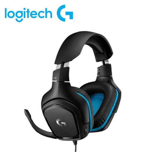 【Logitech 羅技】G431 立體聲電競耳機麥克風