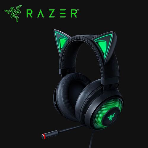 【Razer 雷蛇】Kraken Kitty 電競耳機 黑色