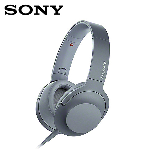 【SONY】MDR-H600A Hi-Res耳機(藍)