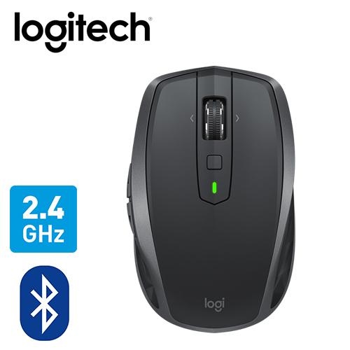 【logitech 羅技】MX ANYWHERE 2S 無線滑鼠 黑