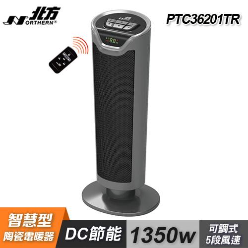 【Northern 北方】智慧型陶瓷遙控電暖器(PTC36201TR)