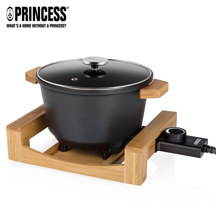 【PRINCESS|荷蘭公主】多功能陶瓷料理鍋/黑 173026