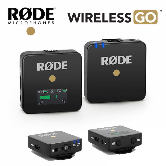 【RODE】 Wireless GO 微型無線麥克風