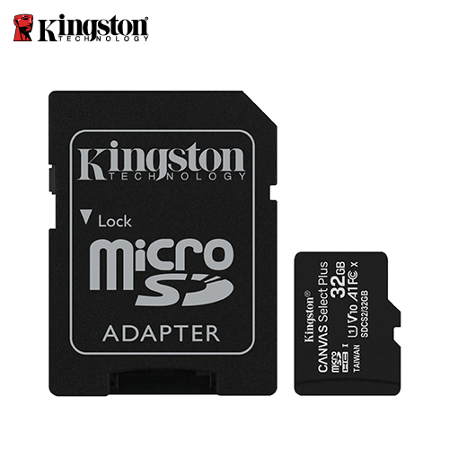 【Kingston 金士頓】Canvas Z Plus microSD 32GB 記憶卡(SDCS2/32GB)