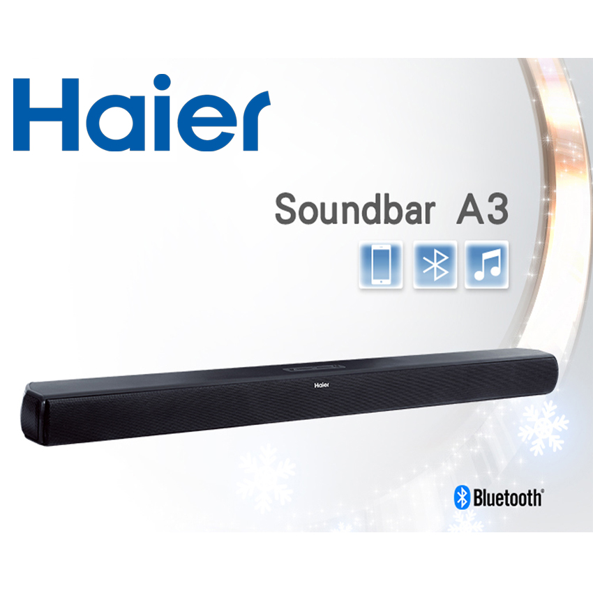 Haier 海爾 Soundbar 無線藍芽喇叭 A3-單鍵式劇院組