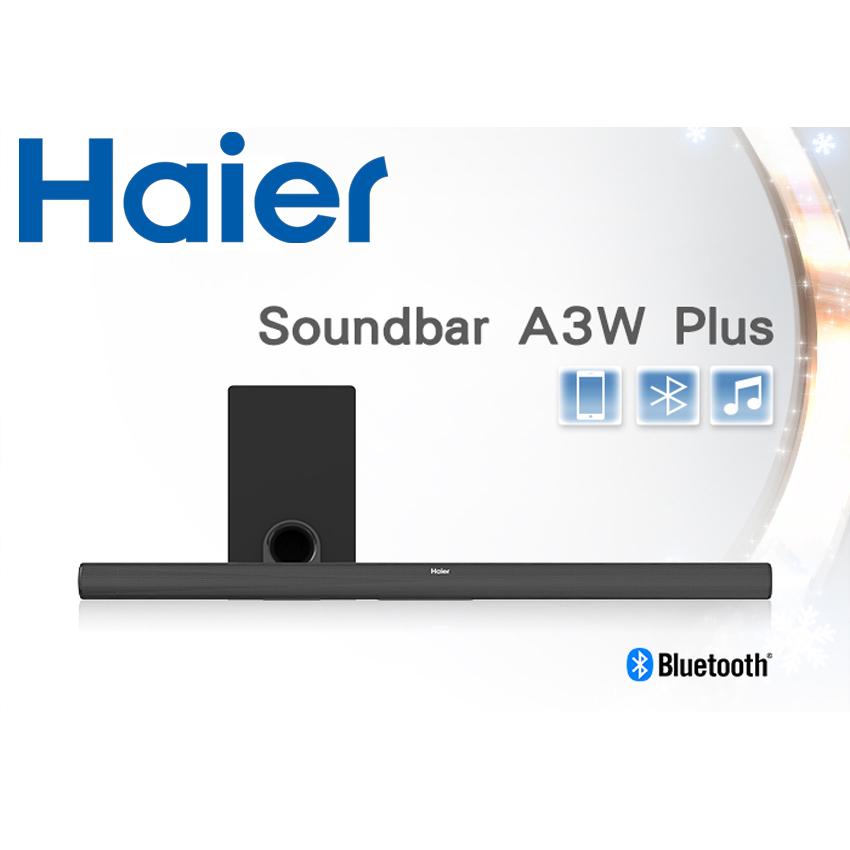 Haier海爾 A3W Plus 無線藍牙 2.1ch Soundbar +重低音喇叭旗艦機