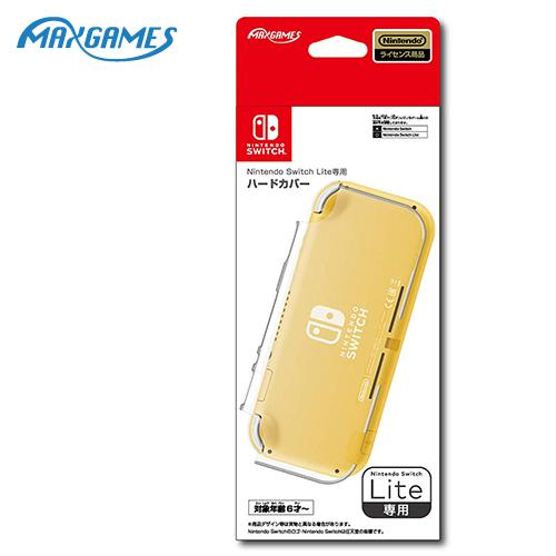 【NS 周邊】MAXGAMES Switch Lite 背面透明保護殼