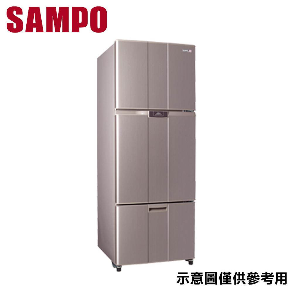 【SAMPO聲寶】455公升 變頻雙門冰箱 SR-B46DV(R6)