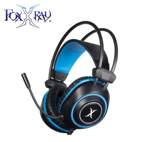 【FOXXRAY 狐鐳】震電響狐USB電競耳機麥克風(FXR-SAU-17)