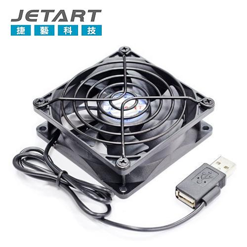 JETART 捷藝 12CM USB風扇 DF12025UB