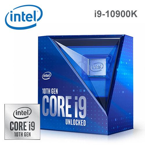【Intel 英特爾】第十代 Core i9-10900K 十核心處理器