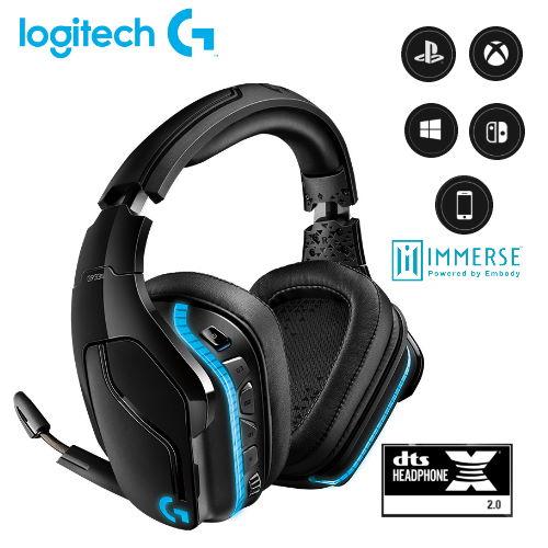 【Logitech 羅技】G933S 無線 RGB 電競耳機麥克風