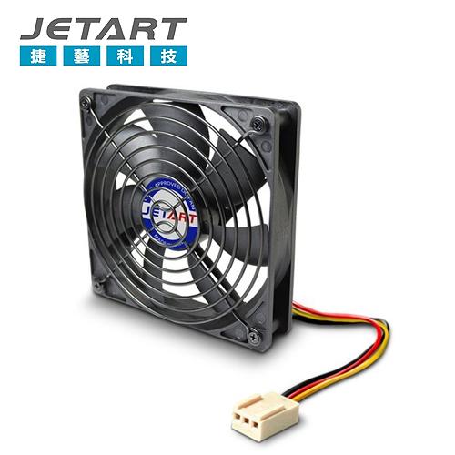 【JETART 捷藝】14CM 風扇(DF14025P)