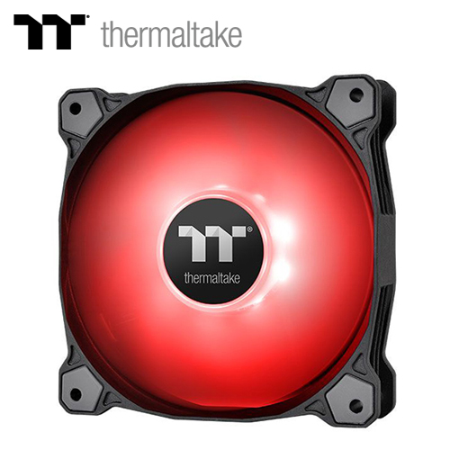 【TT Premium 曜越】Pure A12 水冷排風扇(單顆包裝)-紅