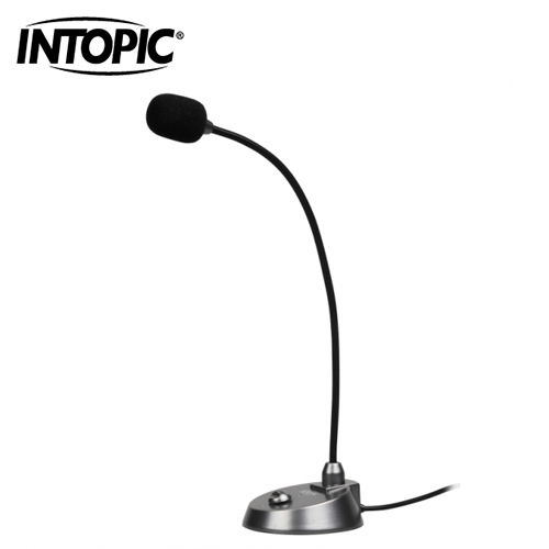 【INTOPIC 廣鼎】桌上型麥克風(JAZZ-025)