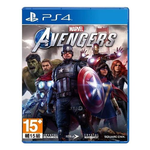 【PS4 遊戲】漫威復仇者聯盟(一般版)《中英文版》