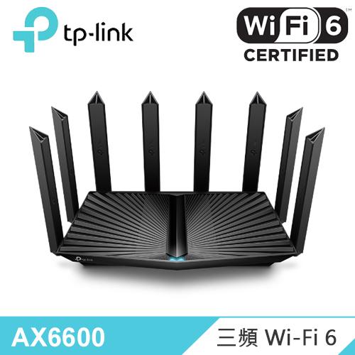 【TP-Link】Archer AX90 AX6600 三頻 Wi-Fi 6 路由器