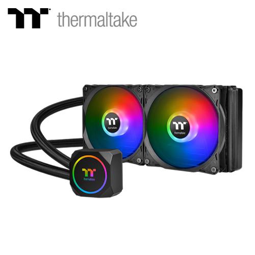 【Thermaltake 曜越】TH240 ARGB Sync 主板連動版一體式水冷散熱器
