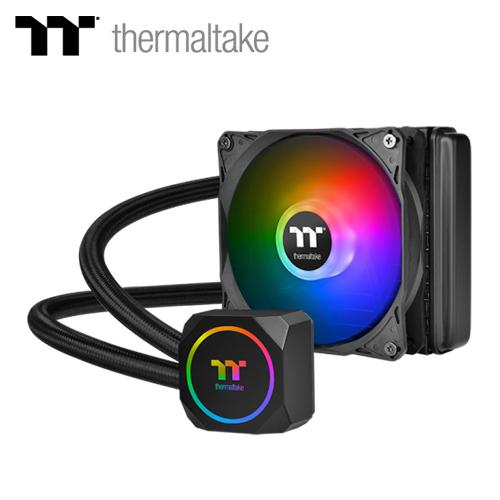 【Thermaltake 曜越】TH120 ARGB Sync 主板連動版一體式水冷散熱器