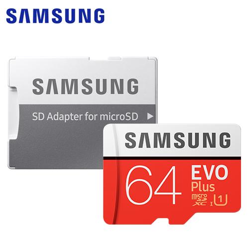 【Samsung 三星】2020 EVO Plus microSD 記憶卡 (64GB)