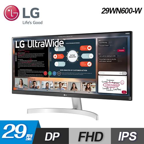 【LG 樂金】29型 UltraWide 電競顯示器(29WN600-W)