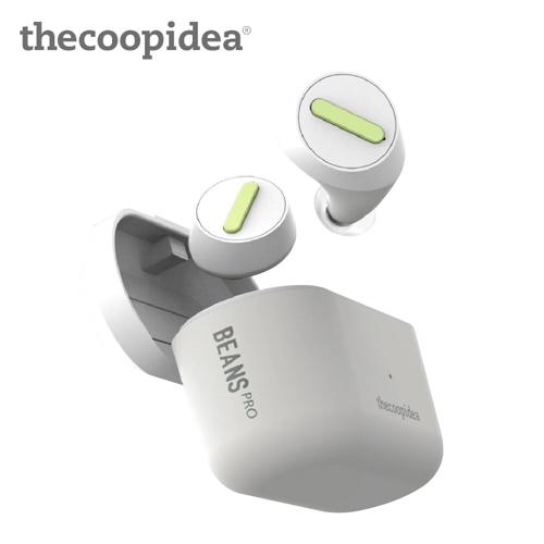 【thecoopidea】BEANS PRO 真無線藍牙耳機(白)