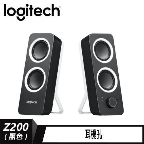 羅技 音箱 Z200 黑