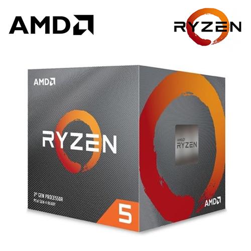 【AMD 超微】Ryzen 5 5600X 6核心 中央處理器(含風扇)