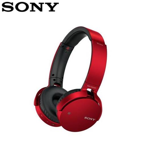 【SONY】MDR-XB650BT  頭戴藍牙耳麥-紅