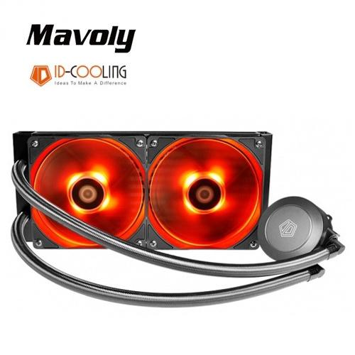 【Mavoly 松聖】ID-COOLING FROSTFLOW 240-R CPU水冷散熱器