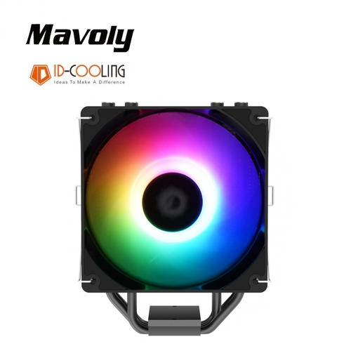 【Mavoly 松聖】ID-COOLING V2 ARGB四道管散熱器