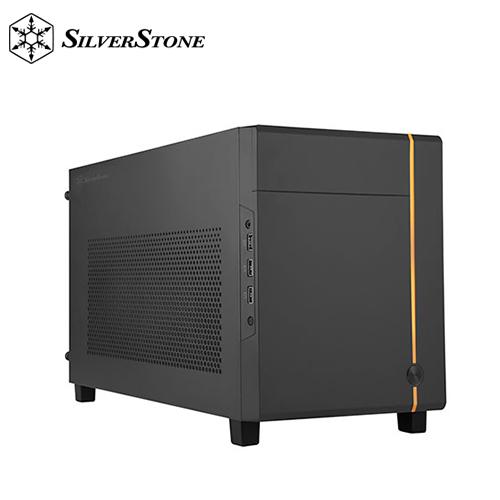 【銀欣】SUGO 14 Mini-ITX 方形機殼 黑色
