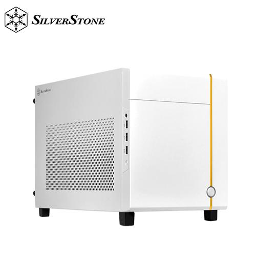 【銀欣】SUGO 14 Mini-ITX 方形機殼 白色