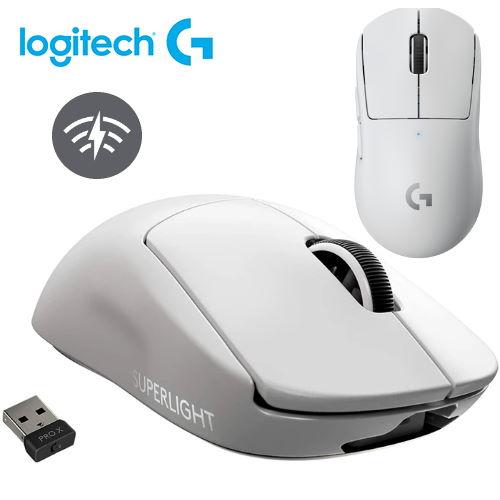 【Logitech G】PRO X Superlight 無線輕量化電競滑鼠 白色