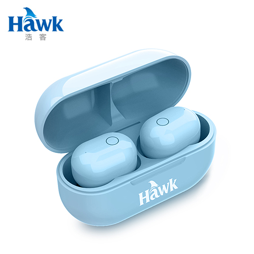 【Hawk 浩客】W768 真無線耳機(藍)