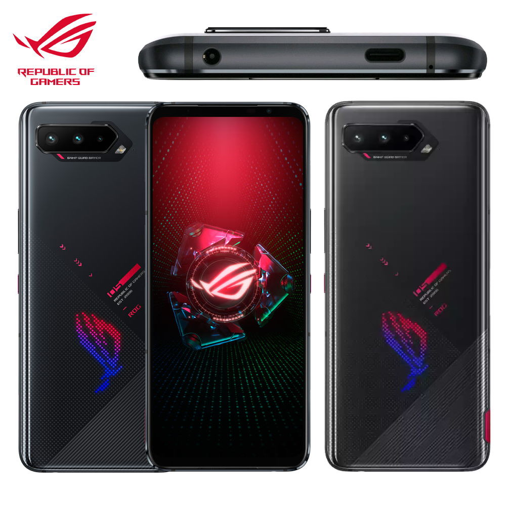 【ASUS 華碩】ROG Phone 5 ZS673KS [16G/256G] 電競手機 幻影黑