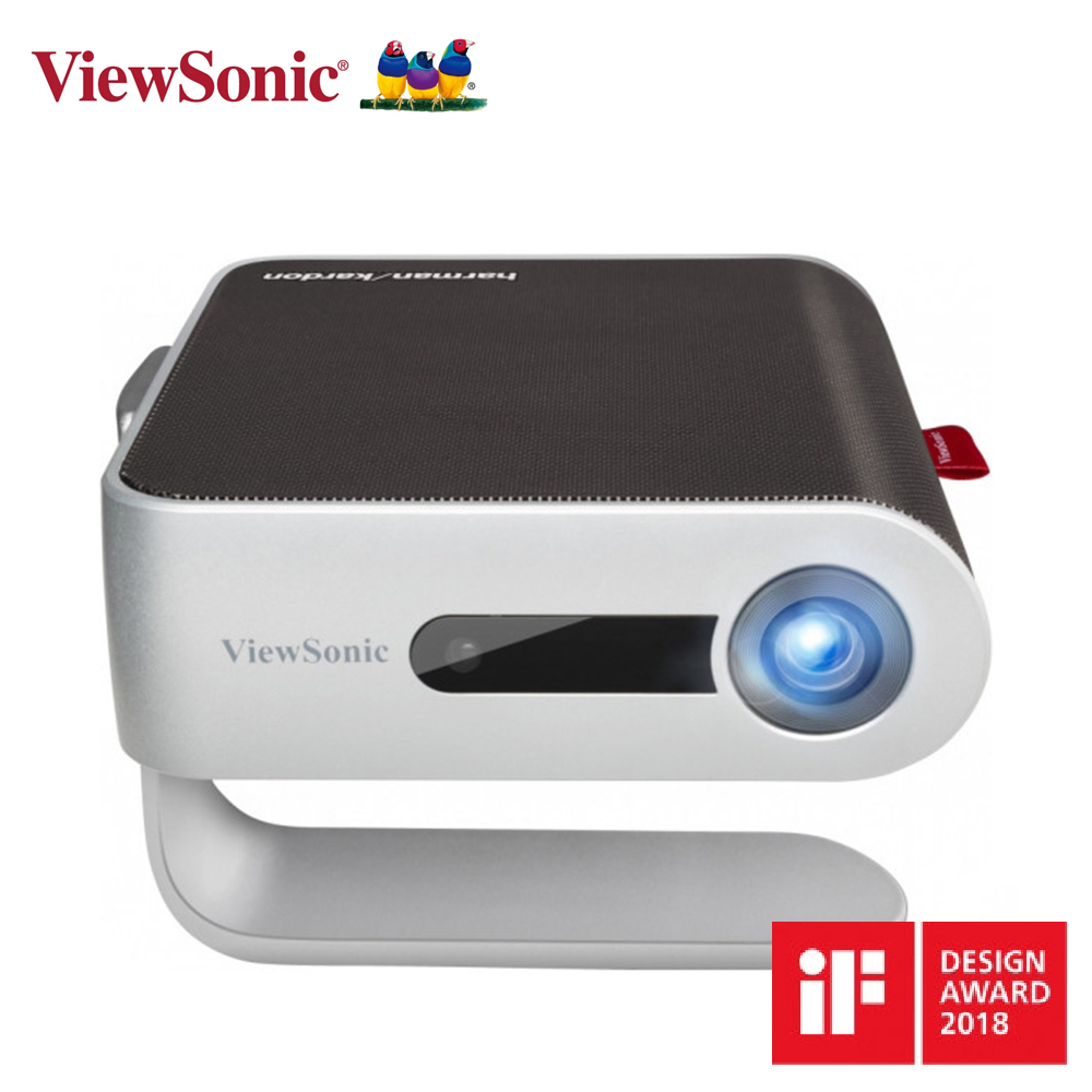 【ViewSonic 優派】M1+_G2 智慧 LED可攜式投影機