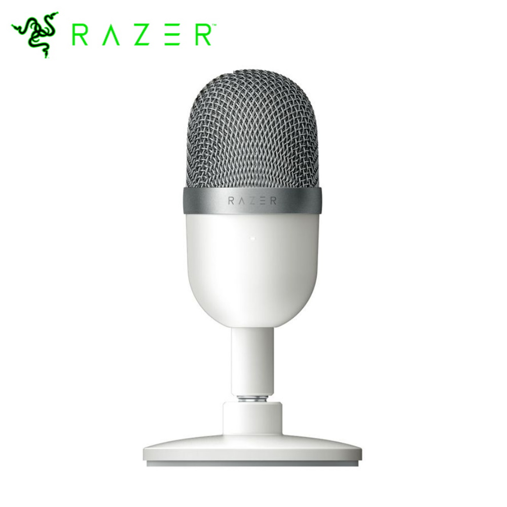 【Razer 雷蛇】Seiren Mini 魔音海妖 MINI 麥克風-白色