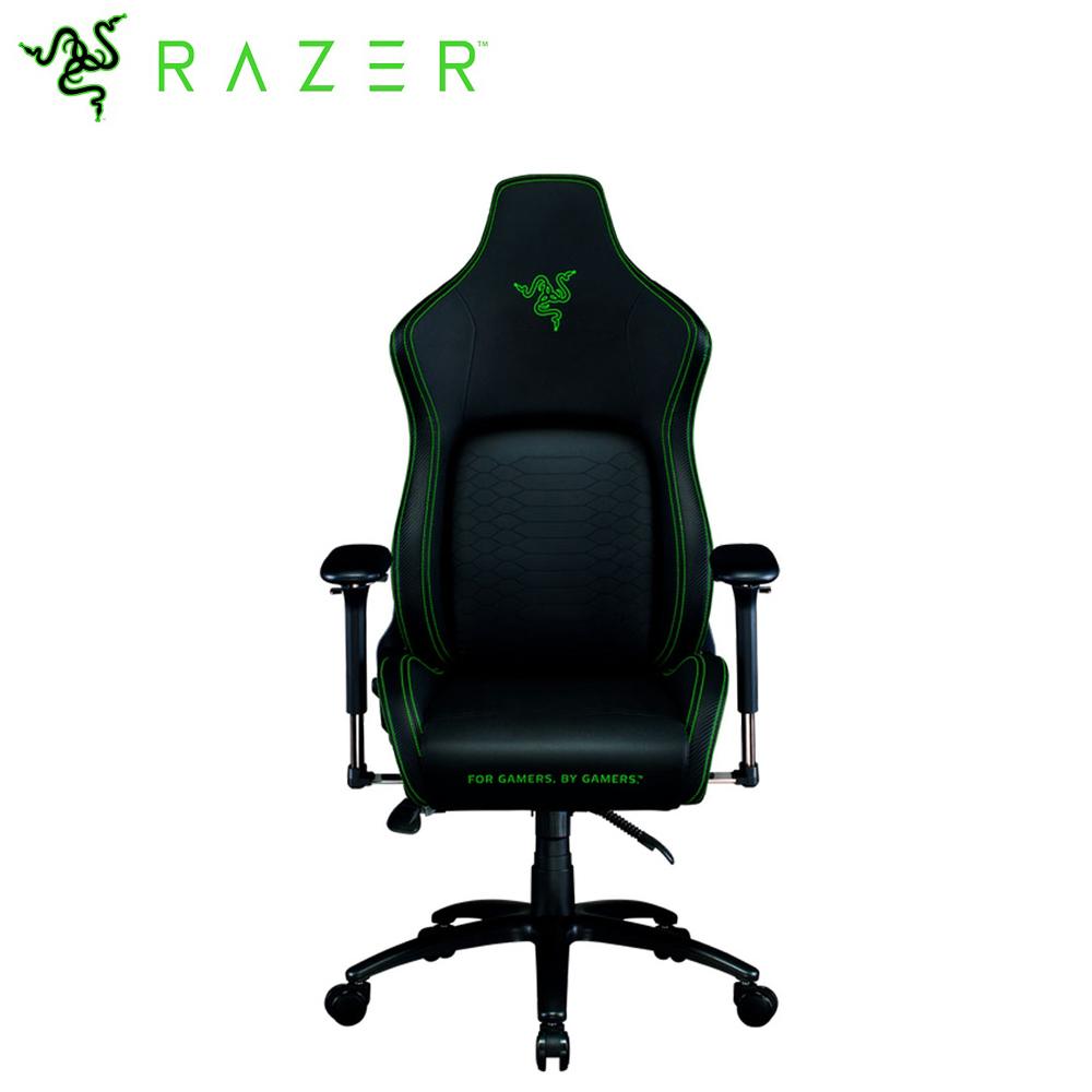 【Razer 雷蛇】ISKUR 人體工學設計電競椅-黑綠色