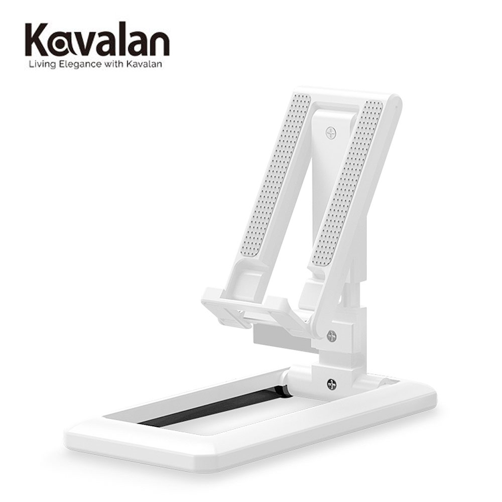 【KAVALAN】手機/平板伸縮摺疊支架-白