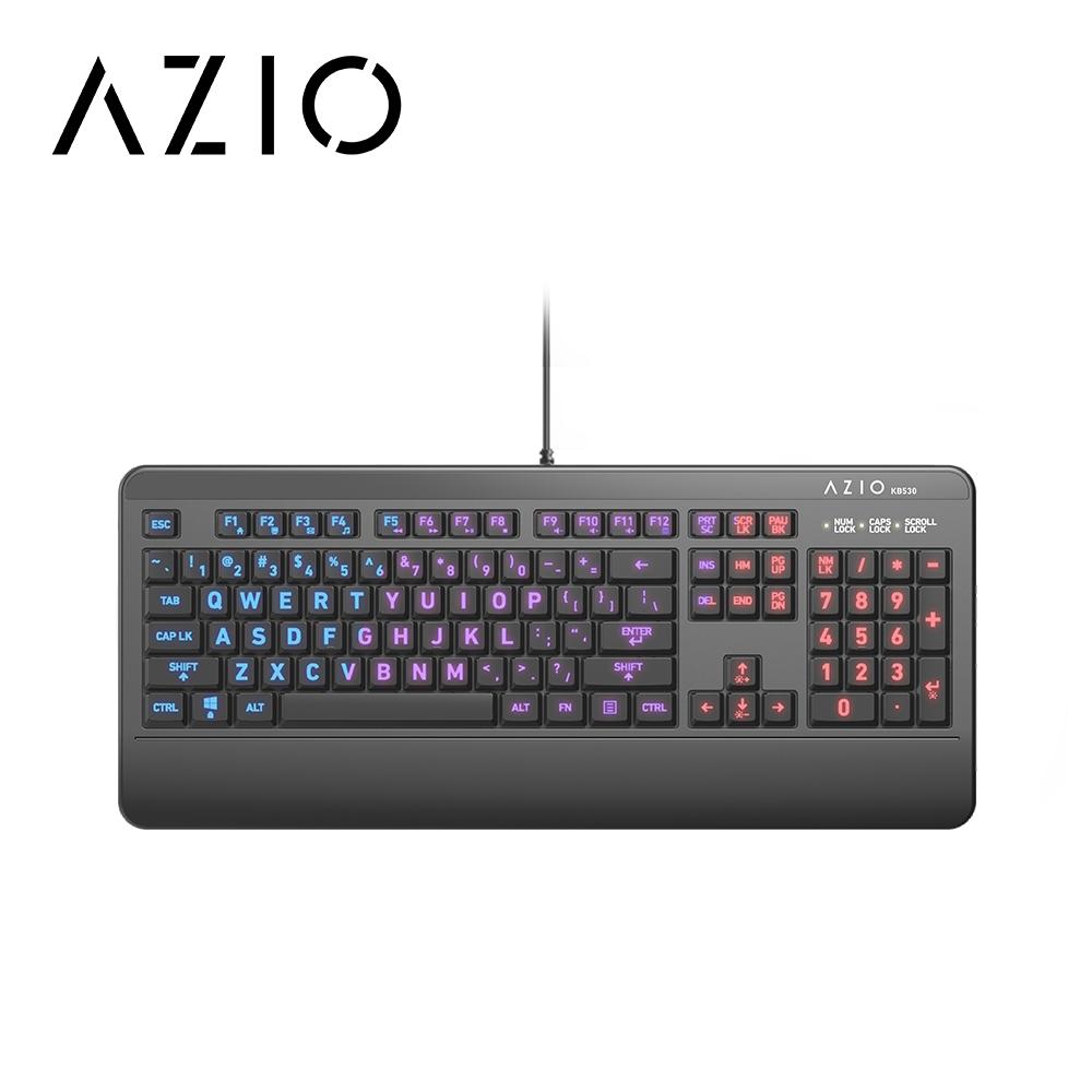【AZIO】抗菌可水洗鍵盤 KB530