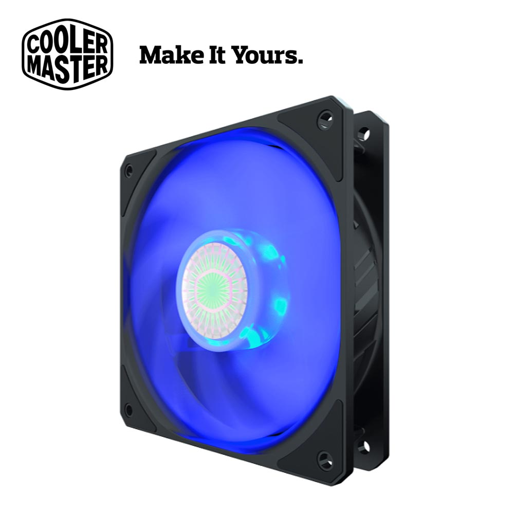【Cooler Master 酷碼】SickleFlow 120 藍光風扇