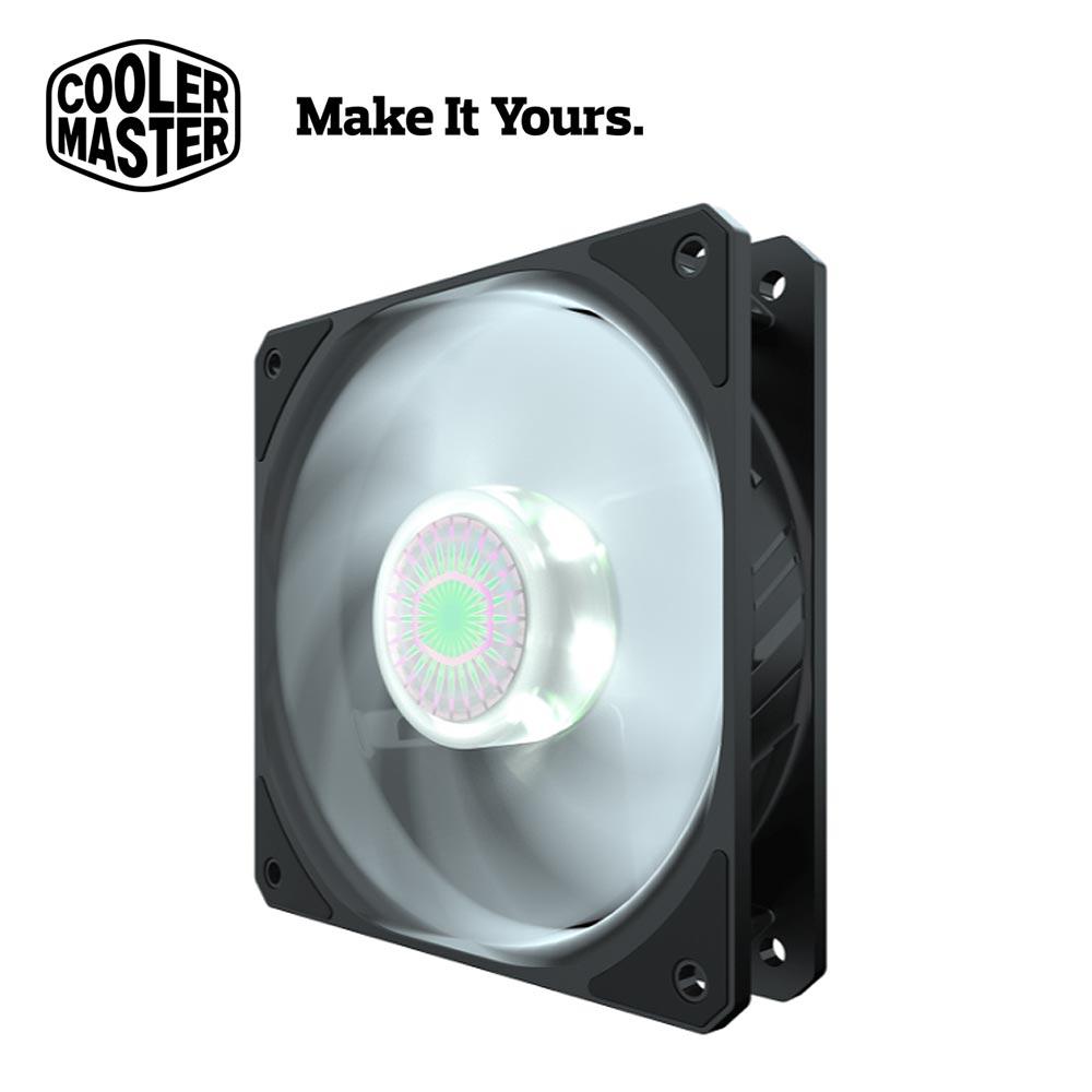 【Cooler Master 酷碼】SickleFlow 120 白光風扇