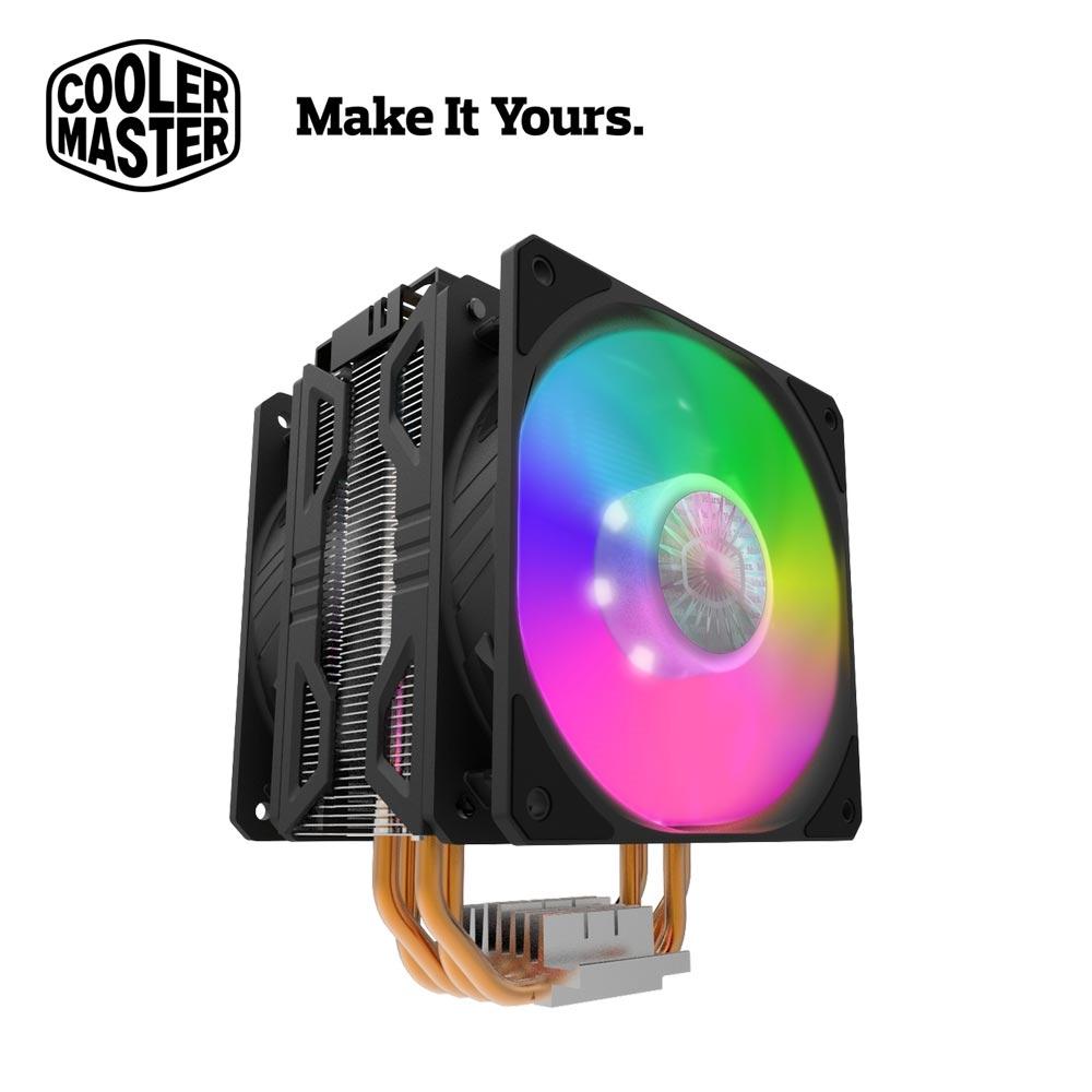 【Cooler Master 酷碼】Hyper 212 LED ARGB TURBO CPU散熱器-黑