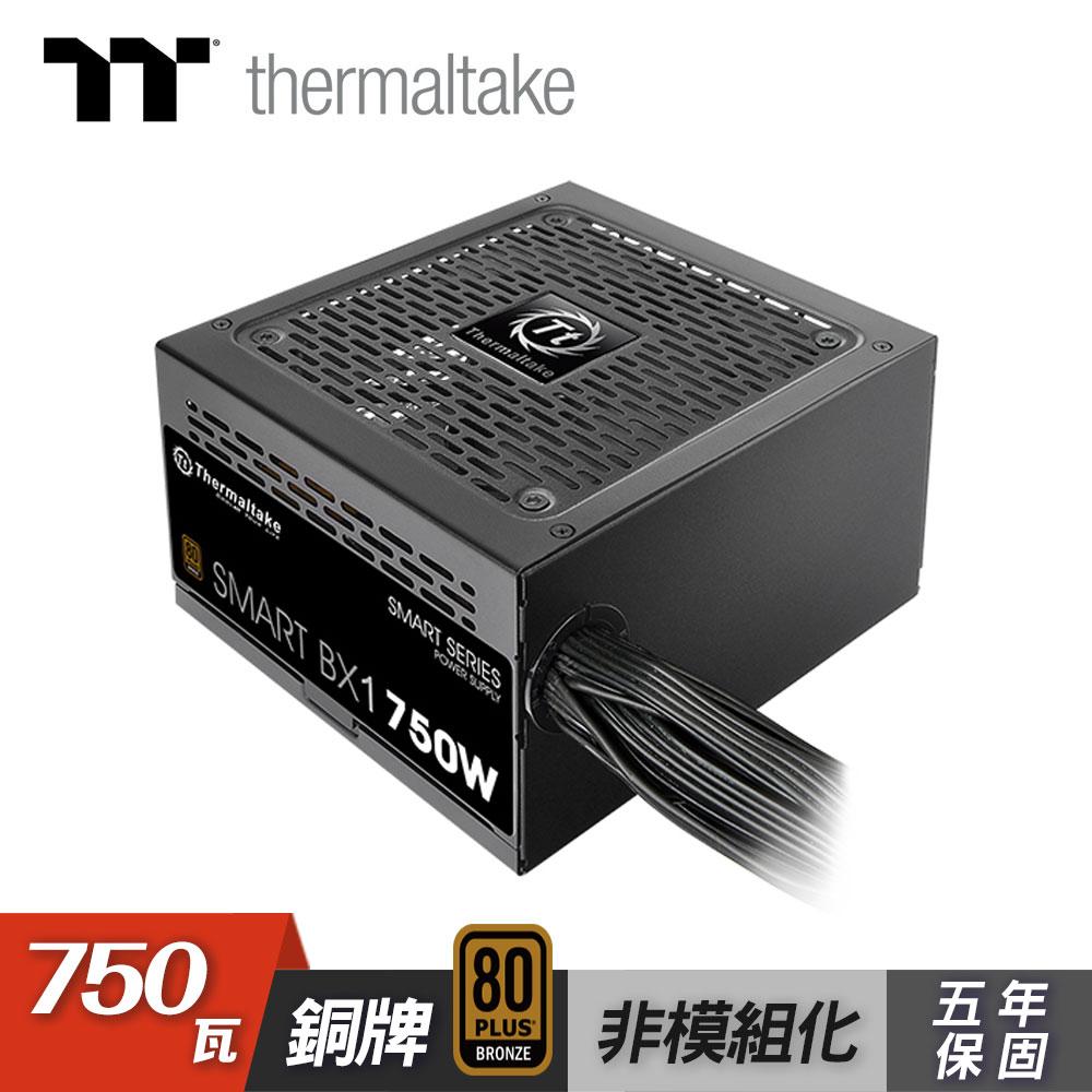 【Thermaltake 曜越】Smart BX1 750W 電源供應器